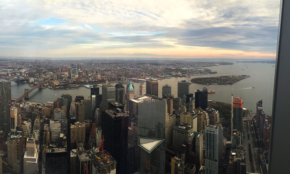 View of Manhattan from the Observatory
