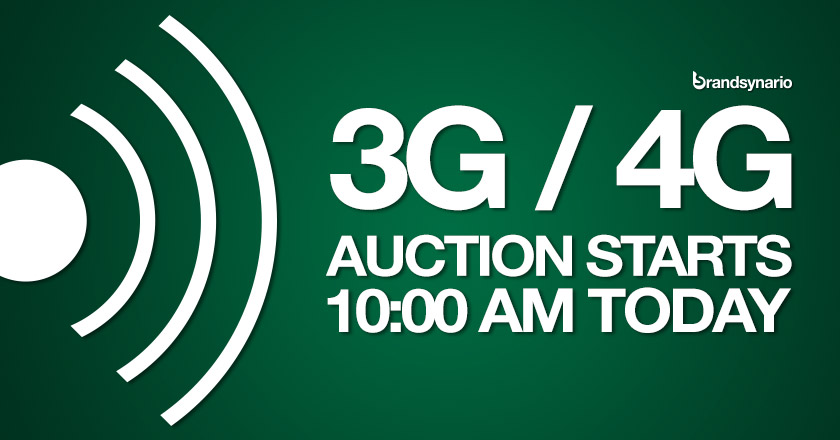 3G4G Auction Start 1000 am Today [live Updates]