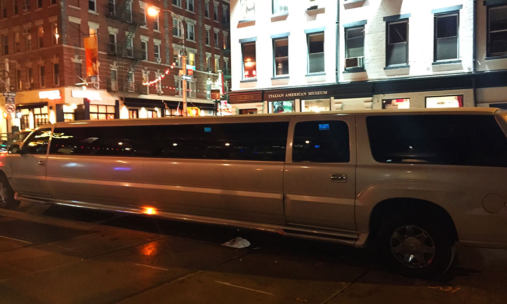 limousine spotted