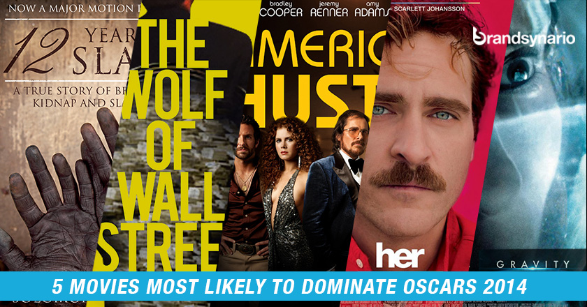 5 Movies Most Likely to Dominate Oscars 2014