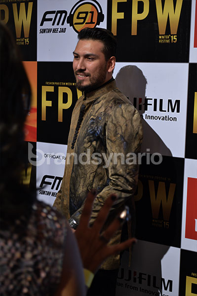 Guests & Celebrities at FPW 2015 Urdu1 Red Carpet Day 2