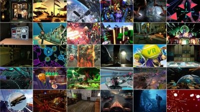 A montage of 30 games confirmed for the Oculus Rift's launch