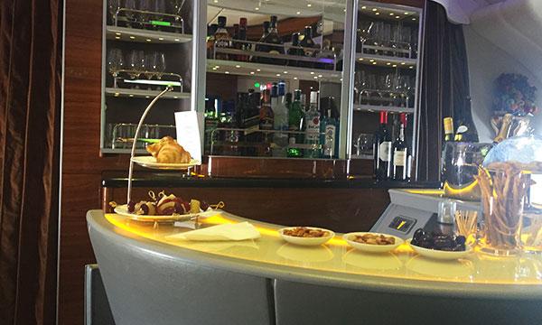The on board bar lounge