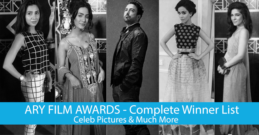 ARY Film Awards 2014 - Complete Winners List