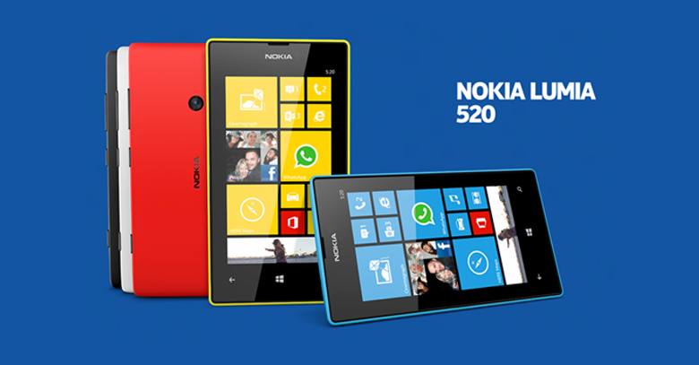 AT&T launches the first Windows Phone Nokia Lumia 520