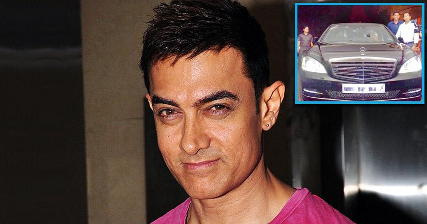 Aamir Khan Bought Bomb Proof Mercedes