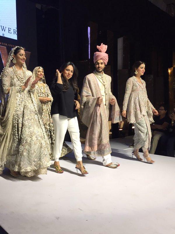 Ahsan Khan at FPW'15 for Nida Azwer