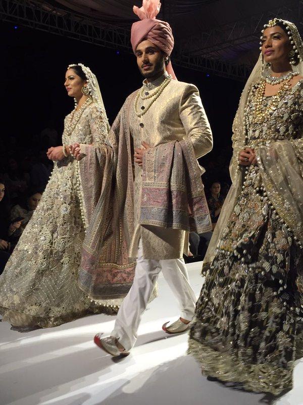 Ahsan Khan for Nida Azwer at FPW'15