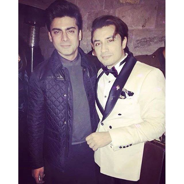 Ali Zafar and Fawad Khan