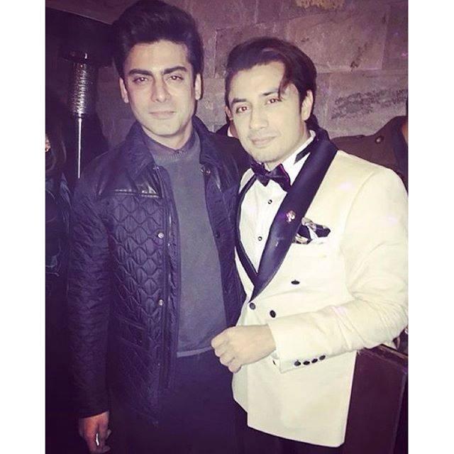 Ali Zafar and Fawad Khan