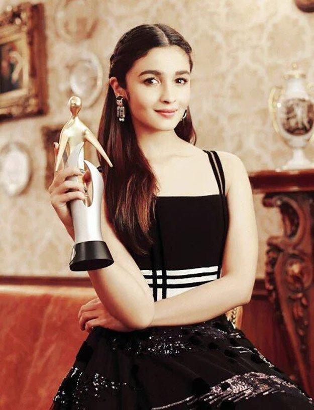 Alia Bhatt on Filmfare Cover