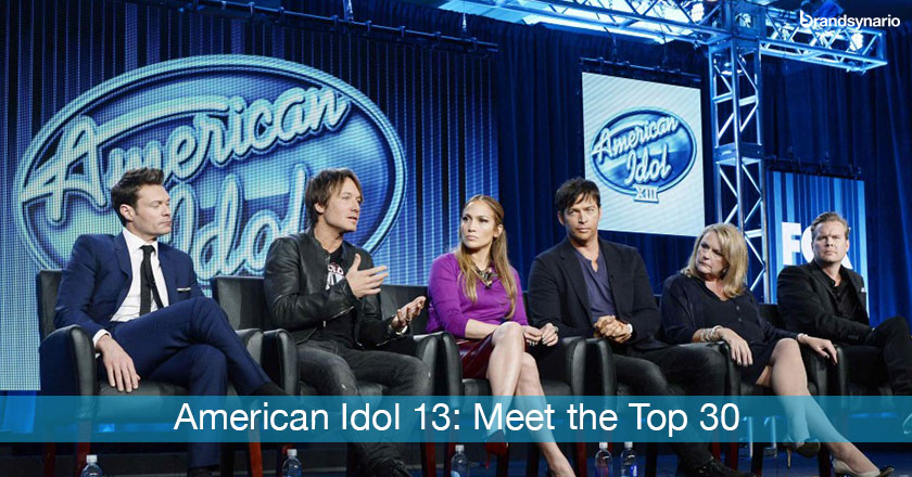 American Idol 13 the 30 Semi-Finalists