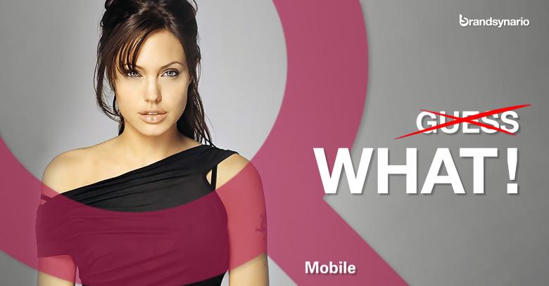 Angelina Jolie QMobile