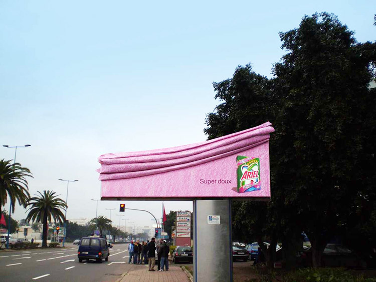 Ariels Super Soft Billboard with a Touch of Downy