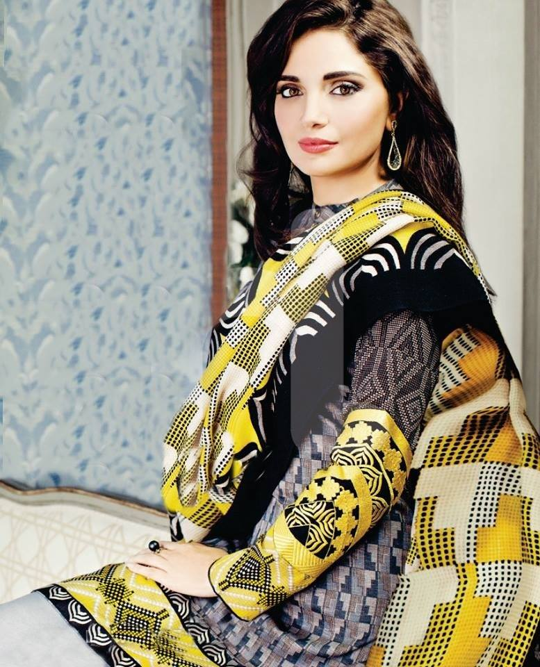 Armeena Rana Khan Nishat Winter Collection (3)