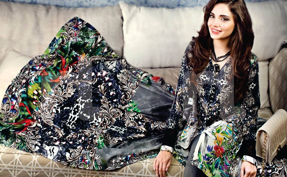 Armeena Rana Khan Nishat Winter Collection (6)