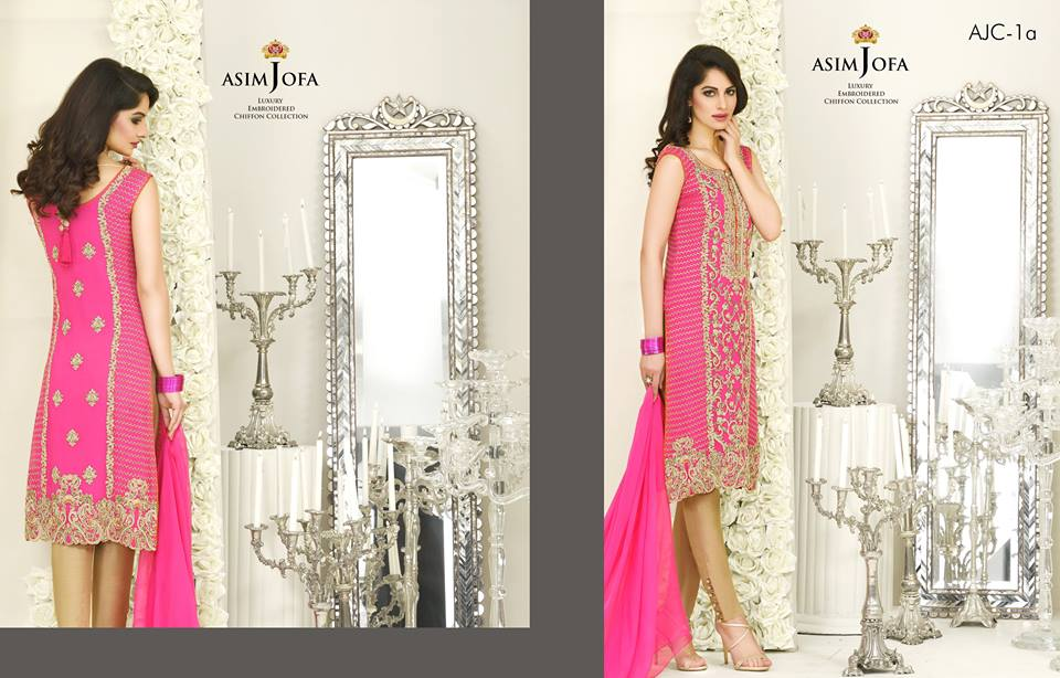 Asim Jofa Luxury Chiffon Collection 2016