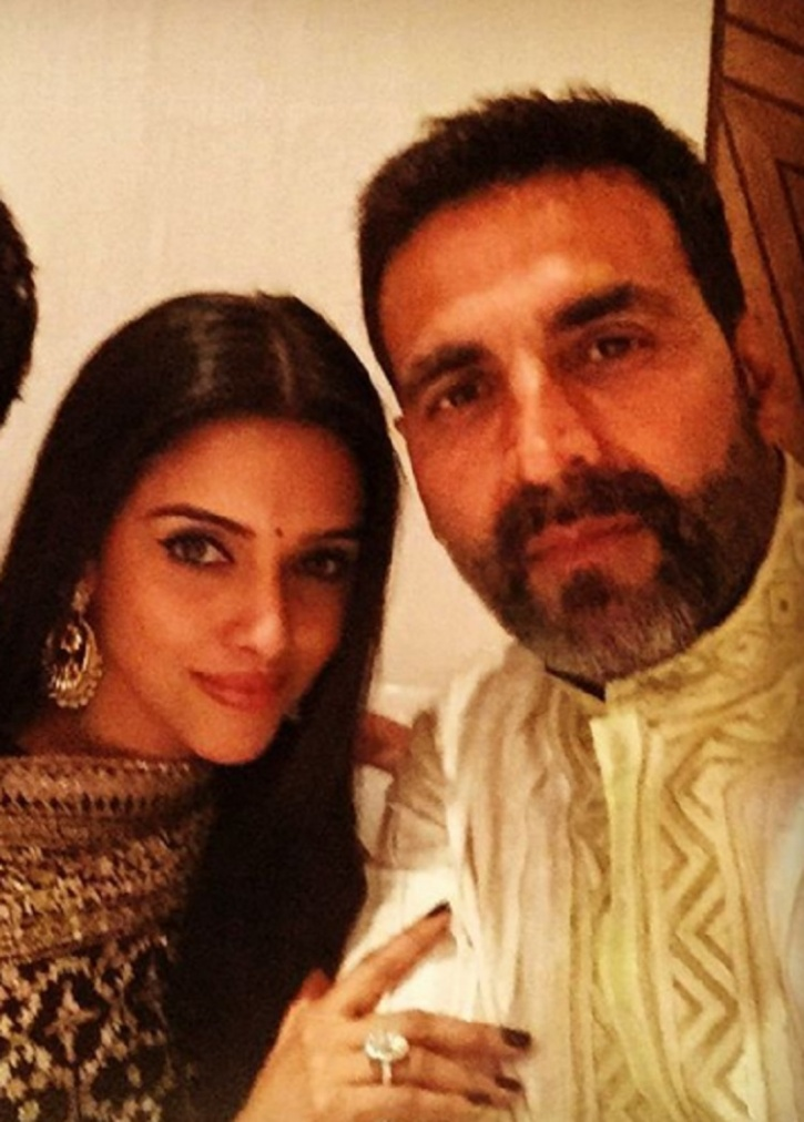 Asin with Akshay kumar before the wedding