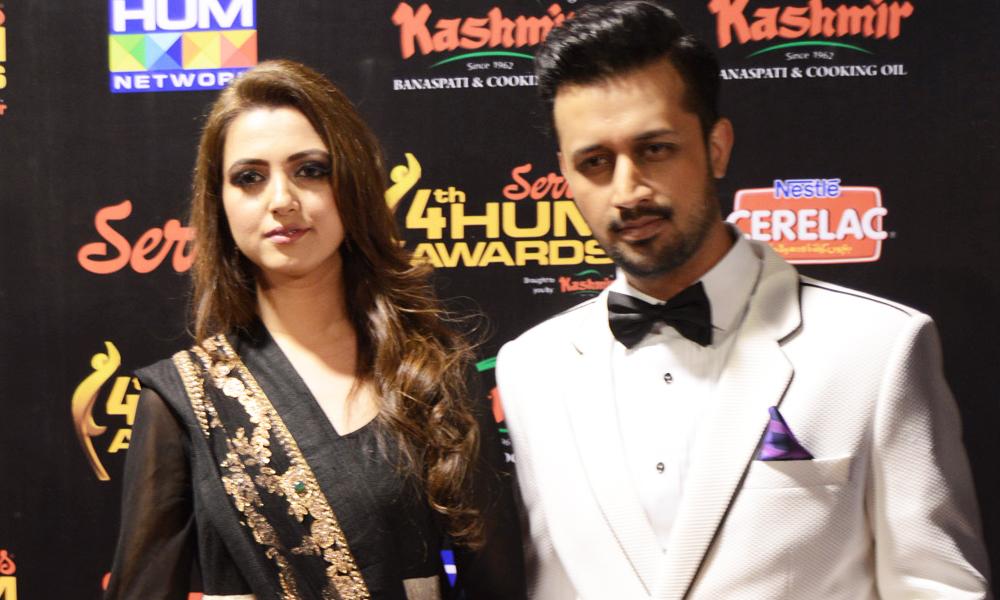 Atif-Aslam-with-His-Wife