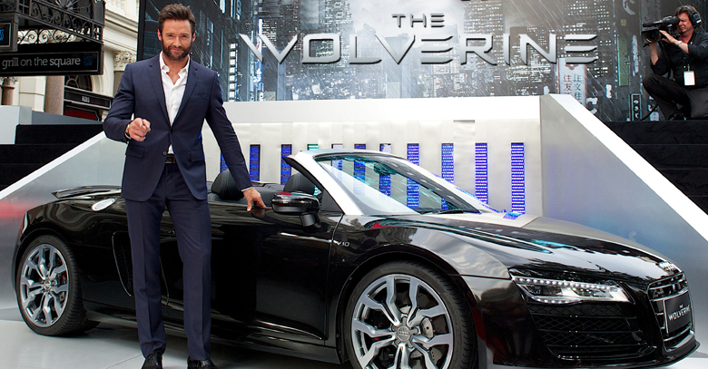 Audi sponsors The Wolverine