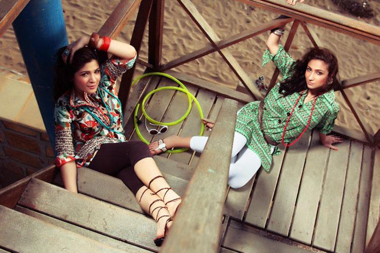 Ayesha Omar and Anushey