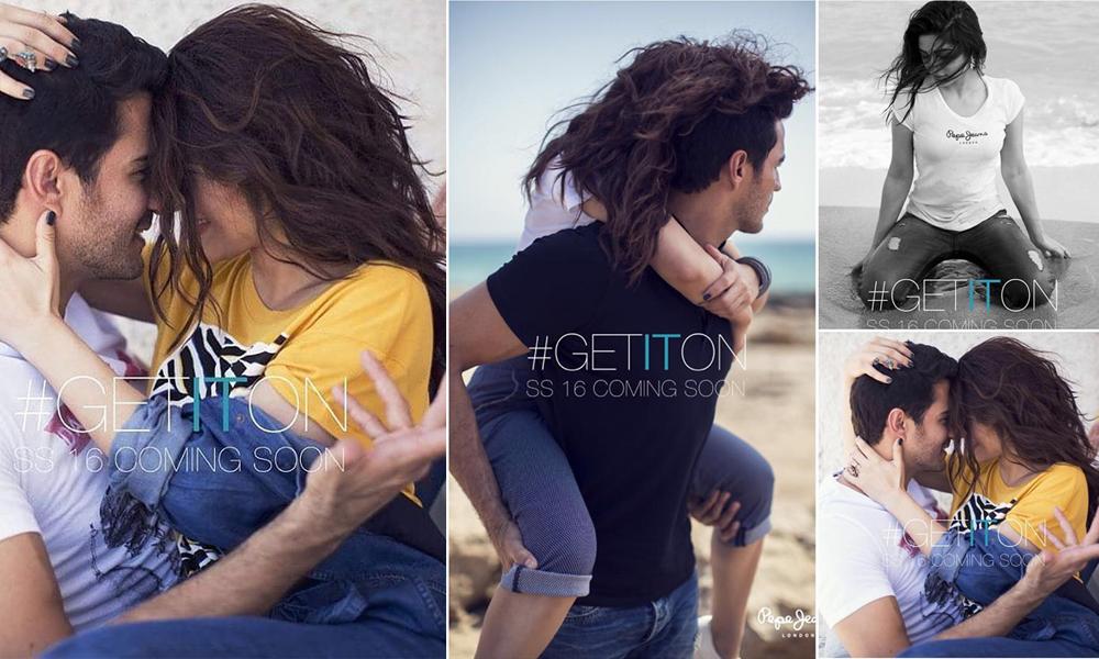 Ayesha Omer & Sikander Rizvi's Sizzle on Pepe Jeans Pakistan 2015 SS16 Campaign