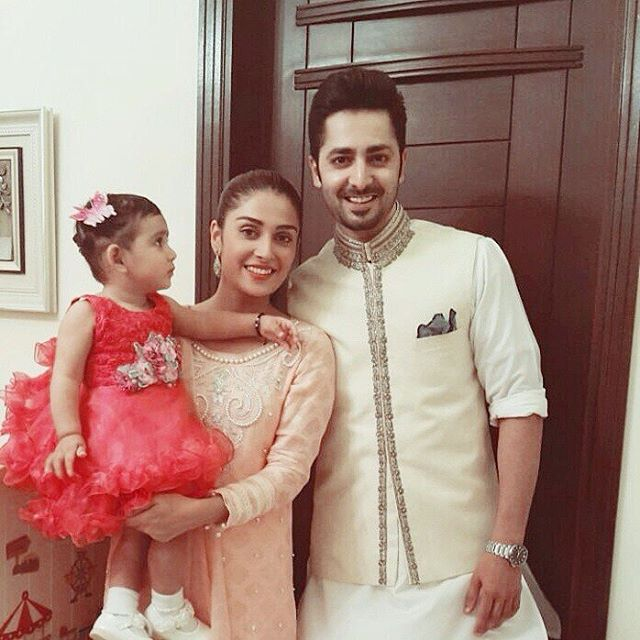 Ayeza Khan and Danish Taimoor on Eid 2016