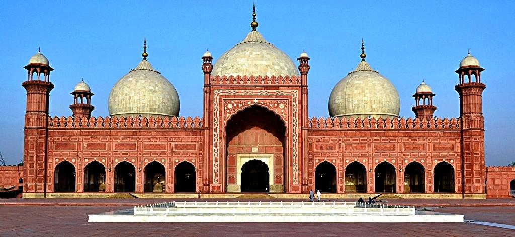 Badshahi Mosque Front