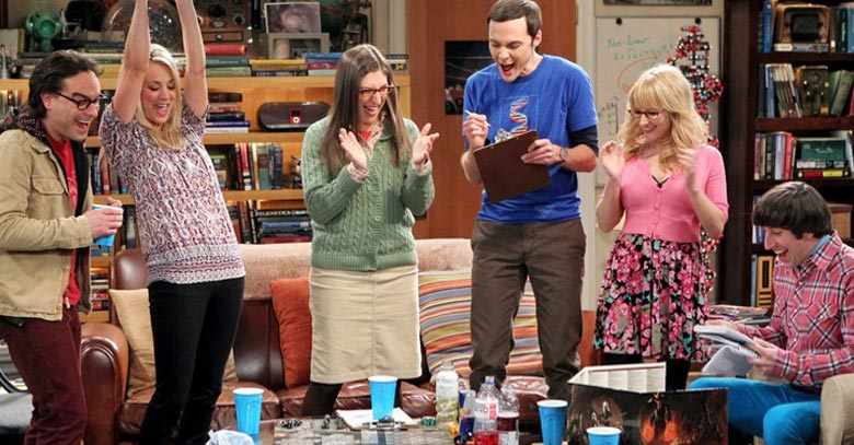 Bazinga The Big Bang Theory Scoops Peoples Comedy of the Year Award