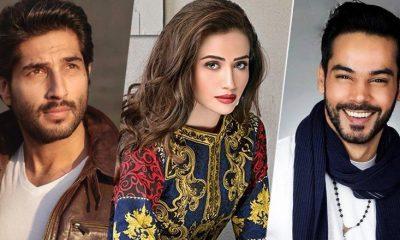 Bilal-Ashraf,-Sana-Javed-and-Gohar-Rasheed-in-Pakistani-movie