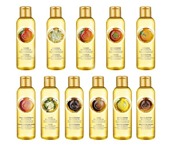Body-Shop-Singapore-Beautifying-Oils-Range