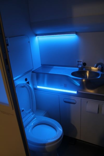 Boeing's self-cleaning toilet