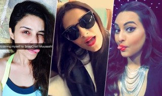 Bollywood-Celebrities-on-Snapchat