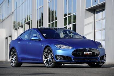 Brabus Zero Emission programme for the Tesla Model S