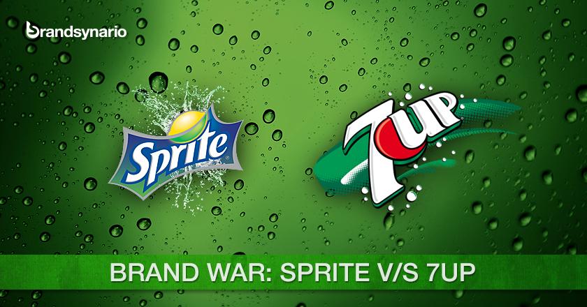 Brands War Sprite VS 7 UP