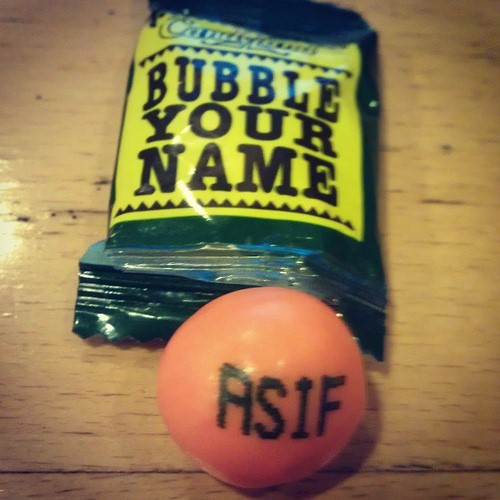 Bubble Your Name
