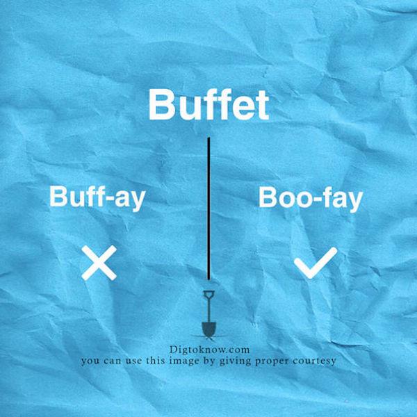 Wrong Food Spelling