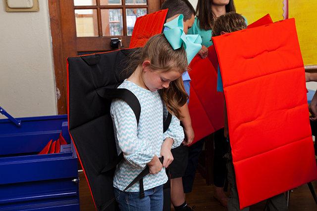 Bulletproof Bodyguard Blanket at schools