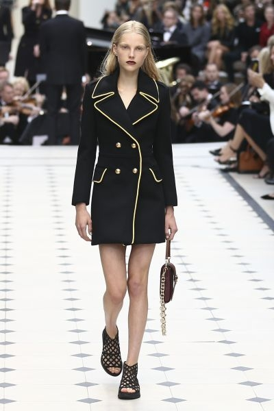 Burberry Prorsum spring-summer 2016 collection show at London Fashion Week