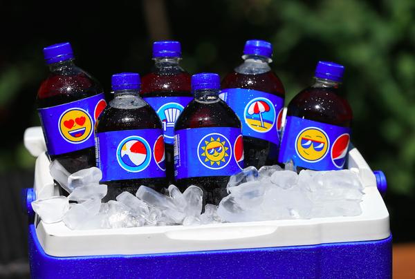 Pepsi Emoji Bottles