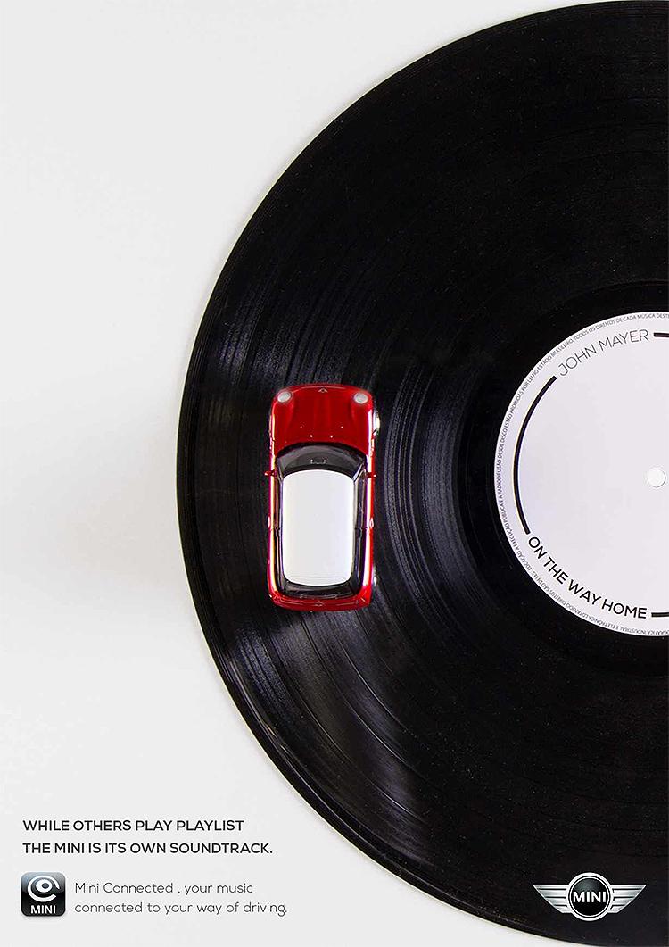 Mini Connected 'Vinyl' Campaign