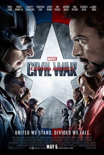 Captain America- Civil War has vaulted past Disney's The Jungle Book at the North American box office with a strong debut weekend take of $181
