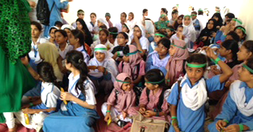Celebrating Jashn e Azadi at Save Our Future School