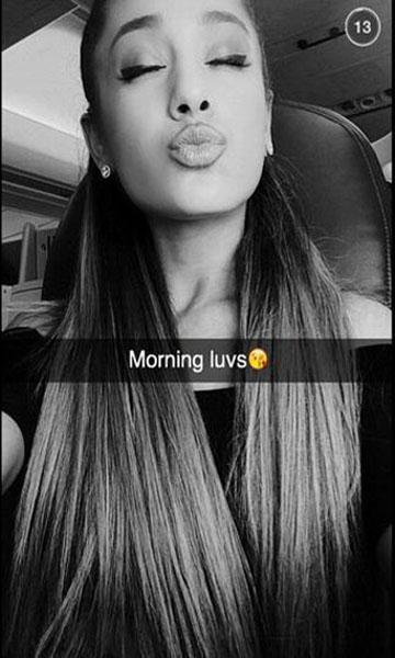 Celebrities on Snapchat