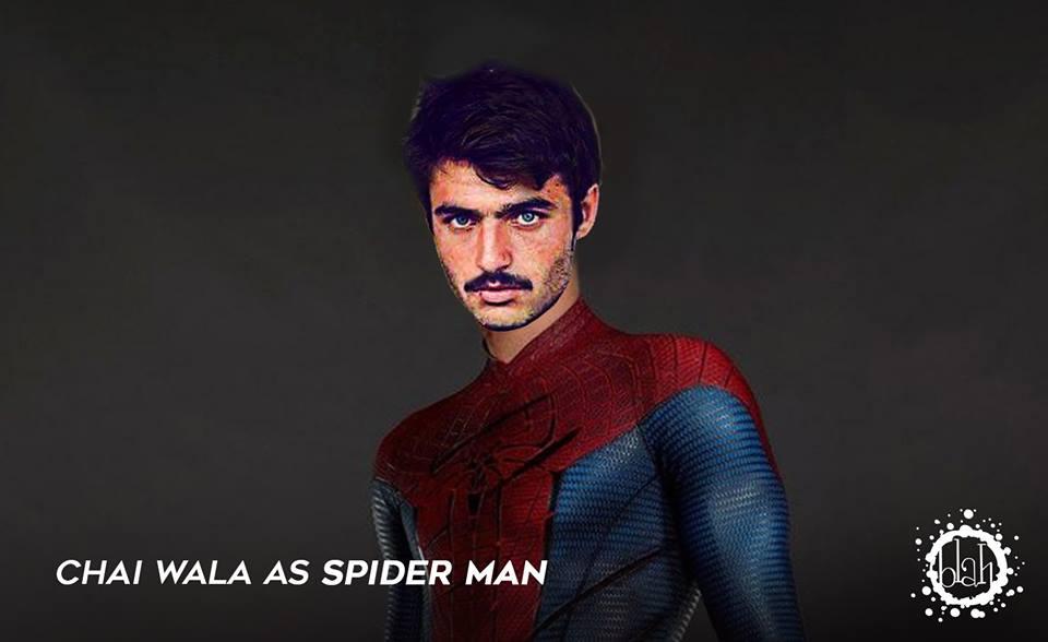 chai-wala-as-spider-man