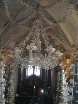 Another view of the Chandelier