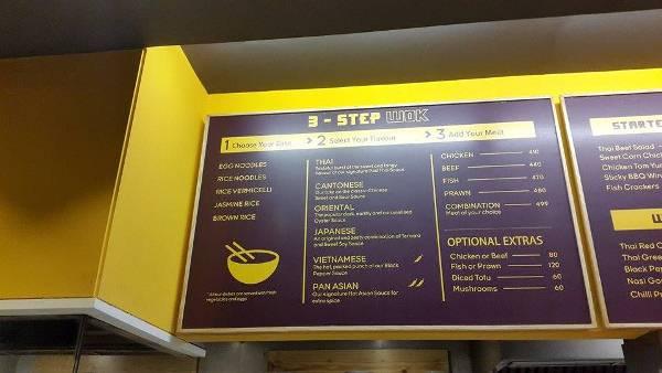 Chop Chop Wok menu 1