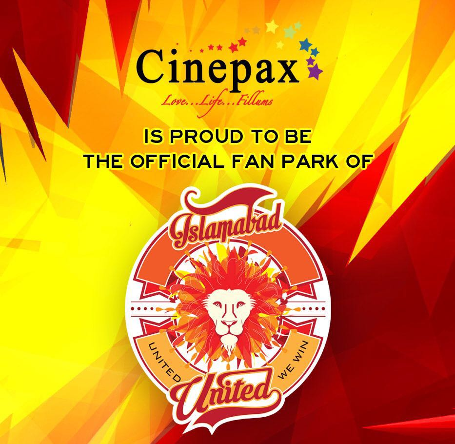Cinepax Official Fan Park of Islamabad United