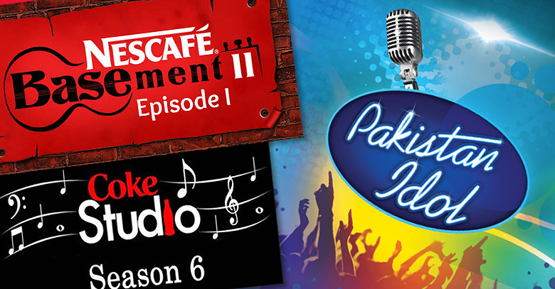 Coke Studio vs Nescafe Basement vs Pakistan Idol Battle of the Brands