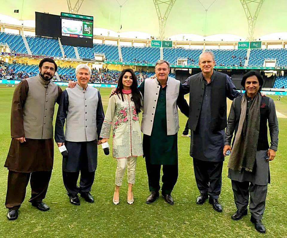 Commentators in Shalwar Kameez.Brandsynario